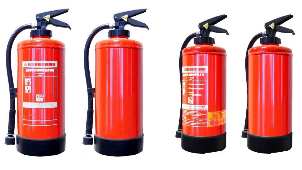 petrol, equipment, fire extinguisher